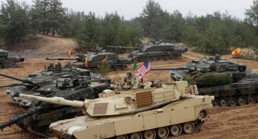 20 mil militares envía EE UU a Europa para prácticas con la OTAN