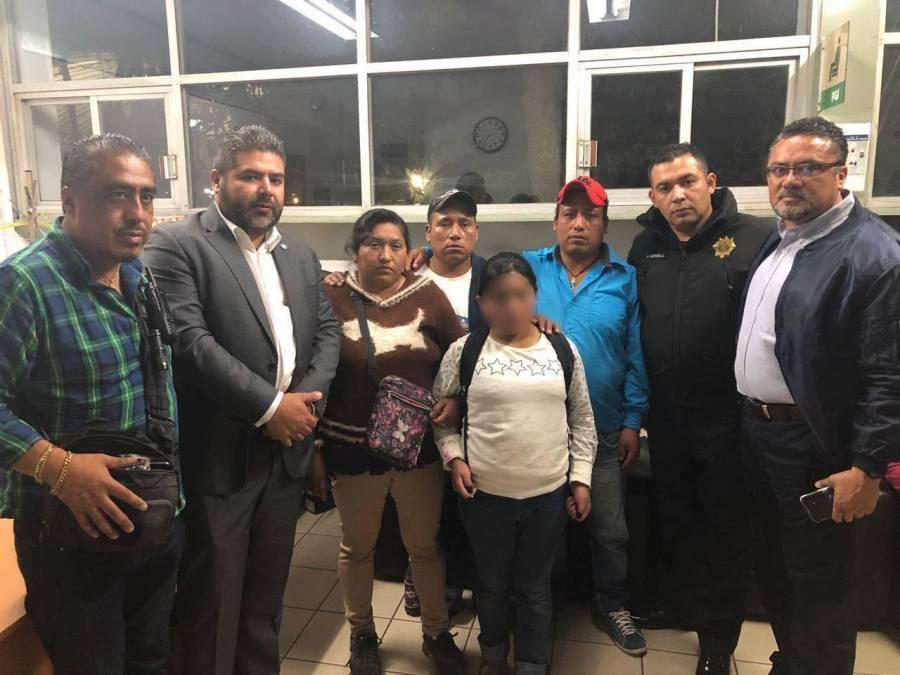 Localizan a salvo a niña reportada como desaparecida en Cuajimalpa