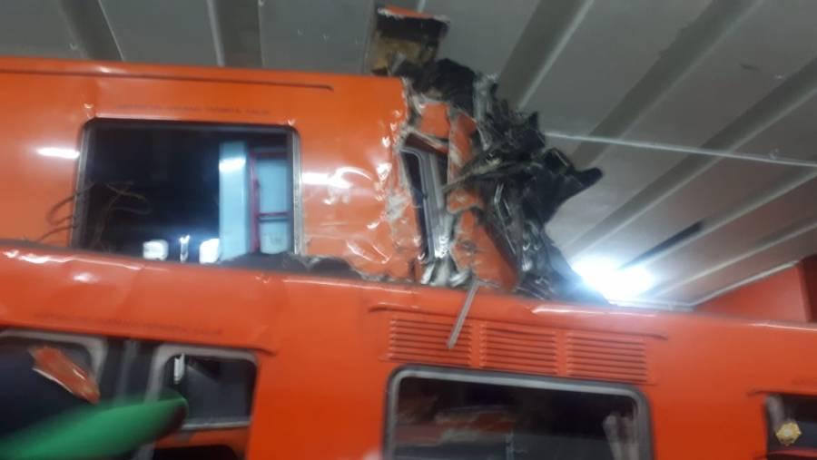 Choque fue por deslizamiento de trenes; certificadora revisará caja negra, afirma Sheinbaum
