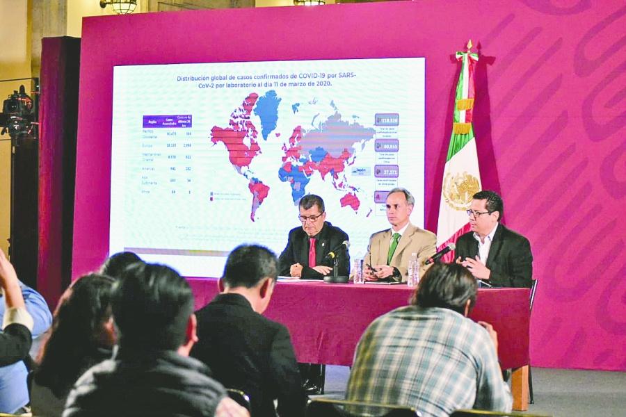 Pasan de 7 a 12 los casos de coronavirus en el país