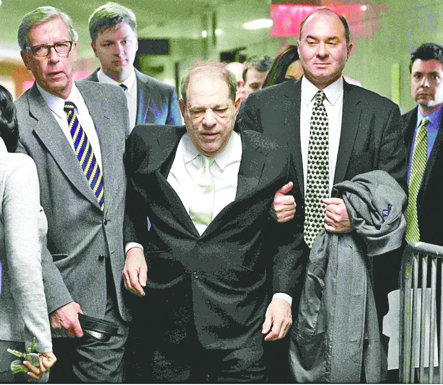 El #MeToo logra su primera victoria histórica: condenan a Weinsten a 23 años