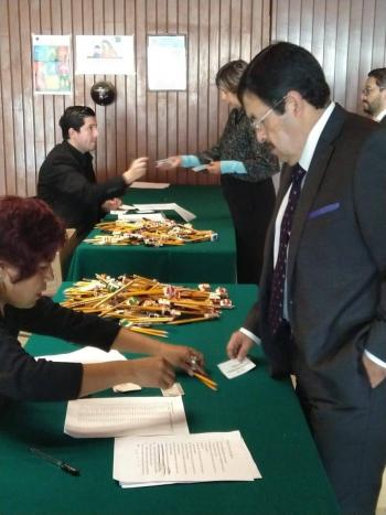 En San Lázaro realizan examen a aspirantes a consejeros del INE