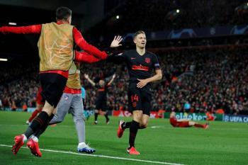 Atlético de Madrid hace la hazaña y elimina al campeón Liverpool