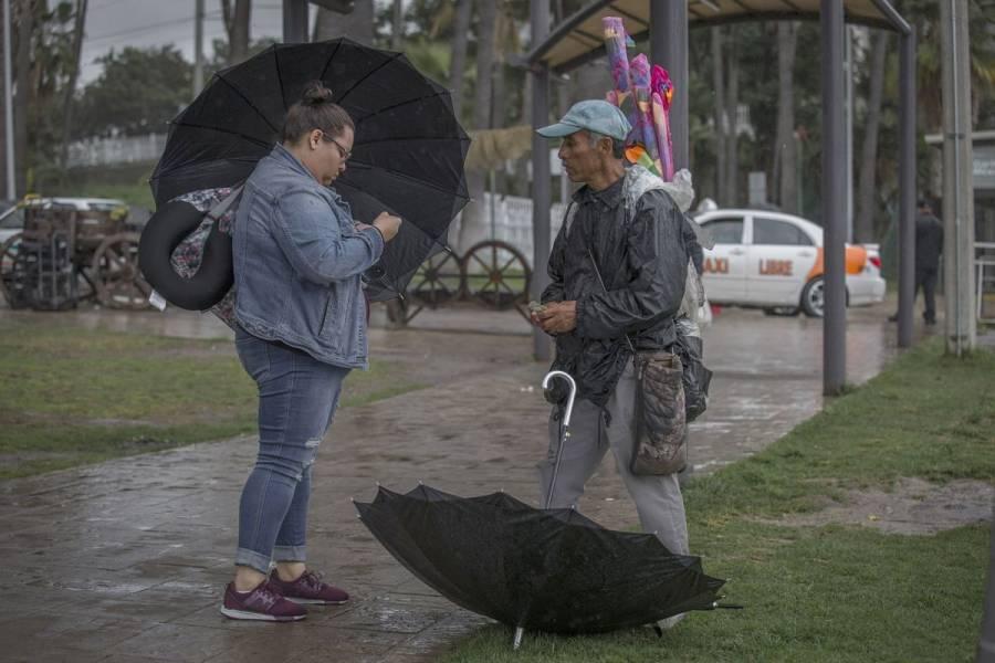 Prevén lluvias fuertes en cuatro estados del país