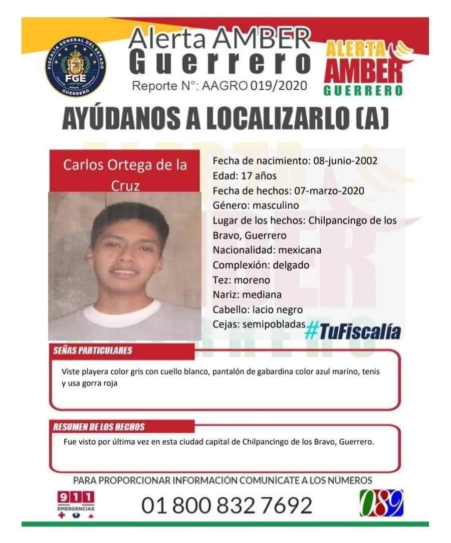 Desaparece hijo del vocero de los padres de los normalistas de Ayotzinapa