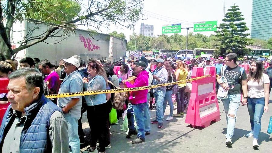 Traslado a Tacubayase vuelve un martirio