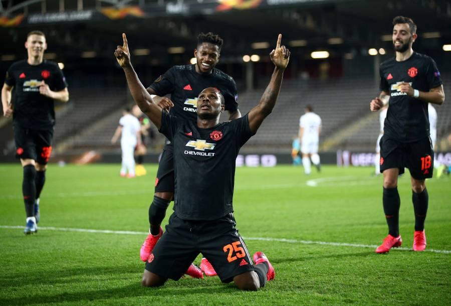 Manchester United aplasta al LASK en la Europa League