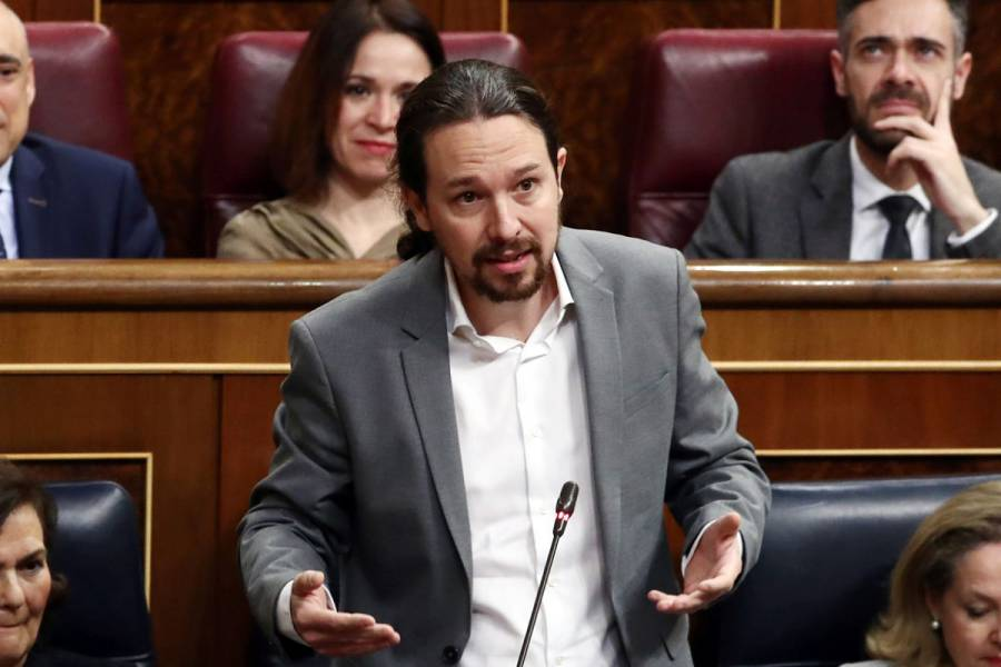 Vicepresidente español Pablo Iglesias está en cuarentena