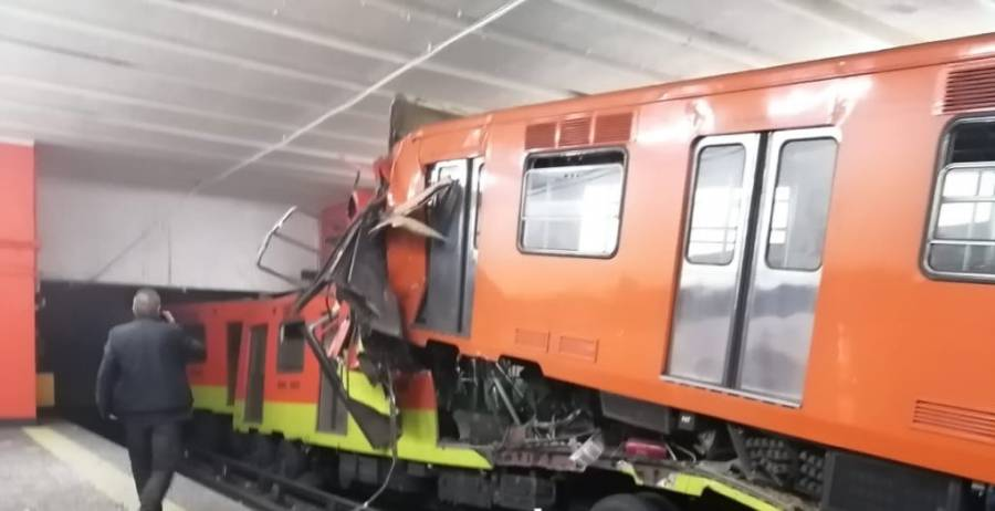 Diputado y ex director del metro, pide informe detallado del choque de trenes en Tacubaya