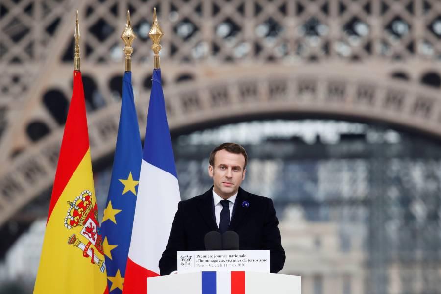 Macron ordena el cierre de escuelas en Francia por coronavirus