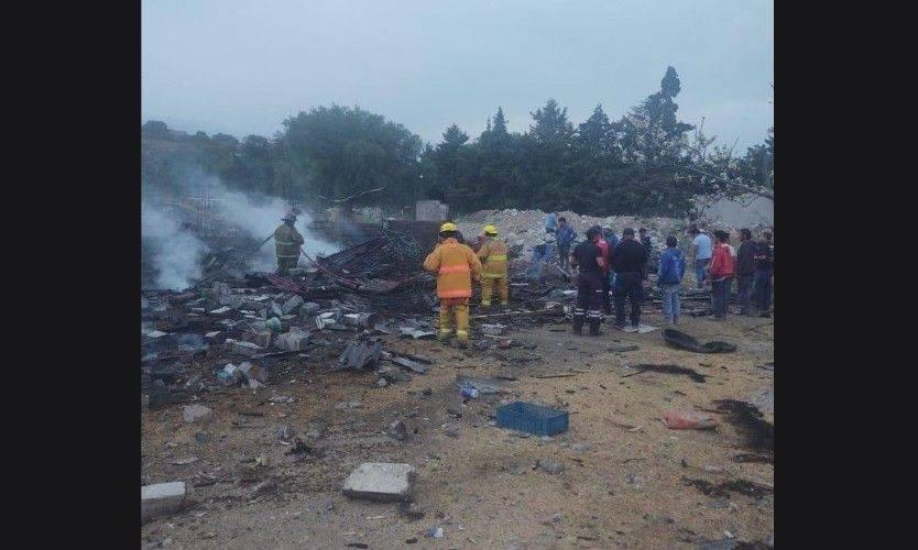 Explosión en Tultepec deja dos muertos y cinco heridos