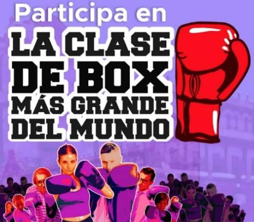 """Posponen la """"Clase de Box más Grande del Mundo"""" en el Zócalo"""