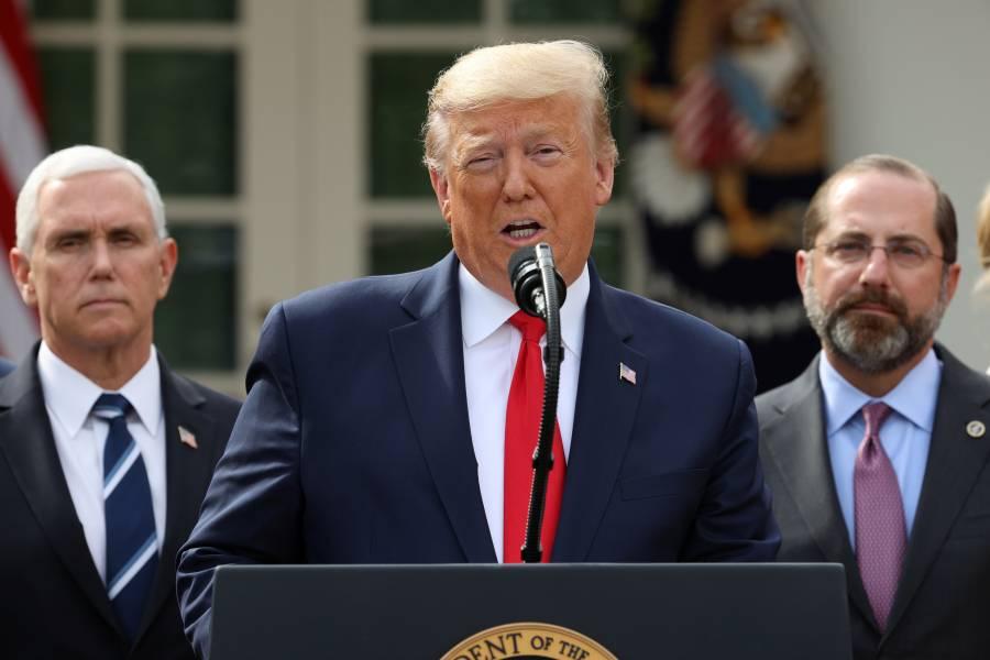 Donald Trump declara estado de emergencia por Coronavirus