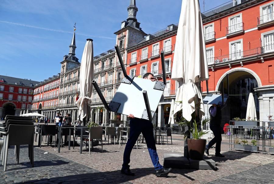 Madrid cierra todos los bares y restaurantes por coronavirus