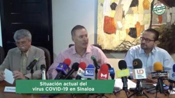 Gobernador de Sinaloa; no hay casos positivos de COVID-19 pero sí dos sospechosos