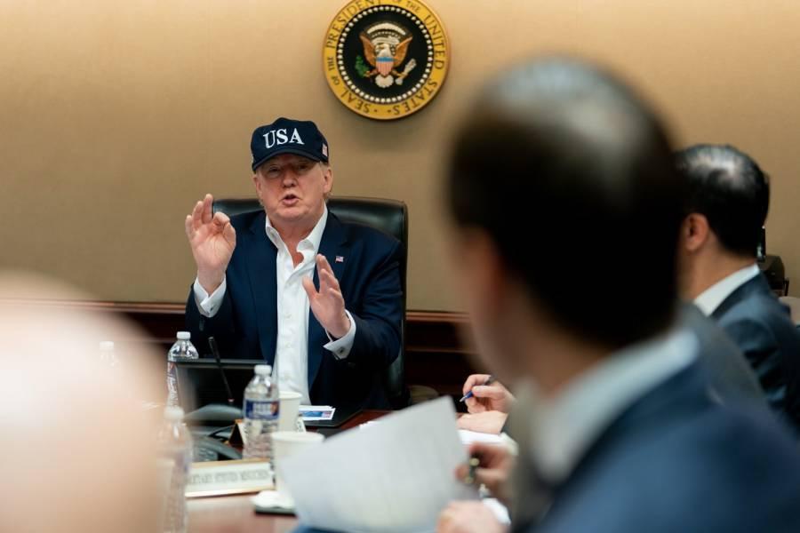 Donald Trump da negativo a prueba de coronavirus