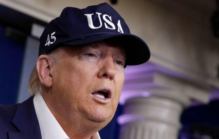 Ante posible contagio, Trump se realizó prueba del COVID-19