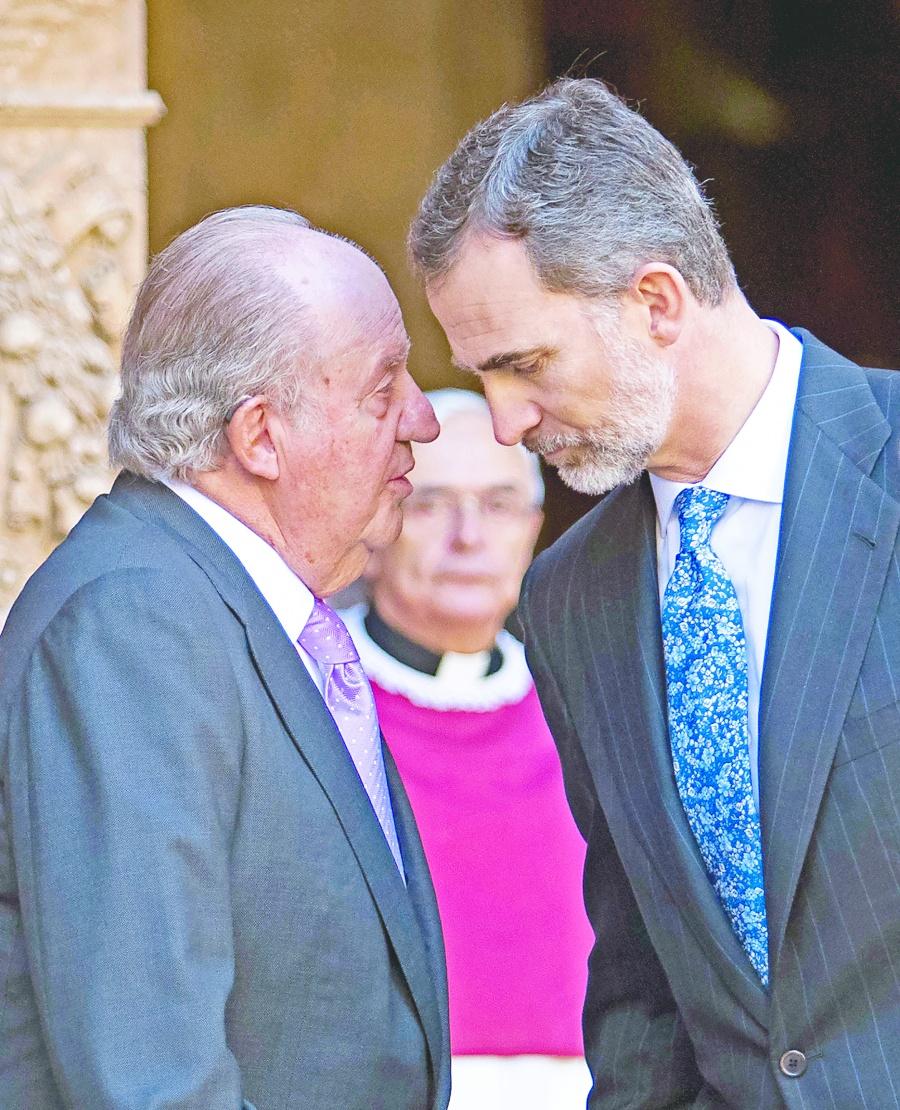 """Felipe VI """"renuncia"""" a herencia del  rey por escándalo de corrupción"""