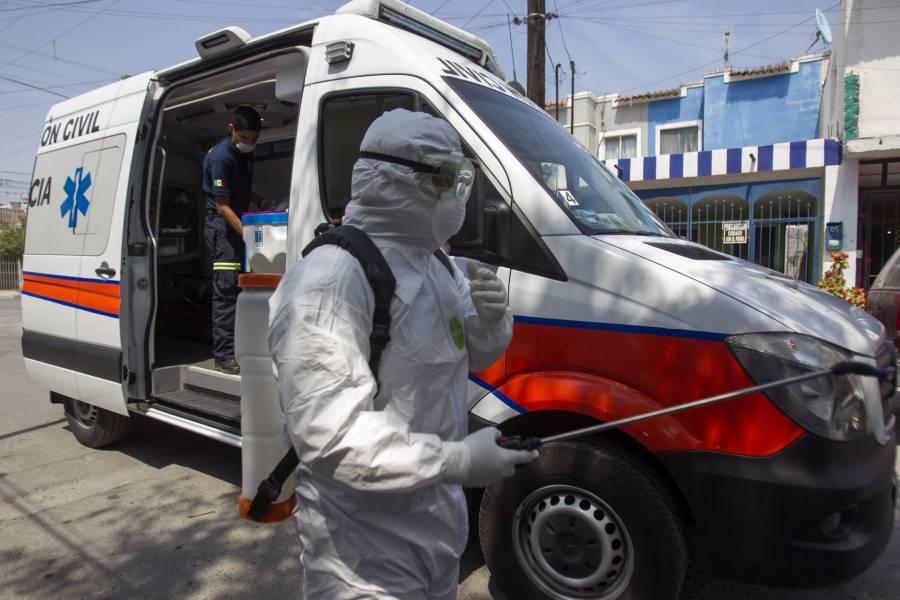 Ascienden a cinco los infectados de COVID-19 en Nuevo León