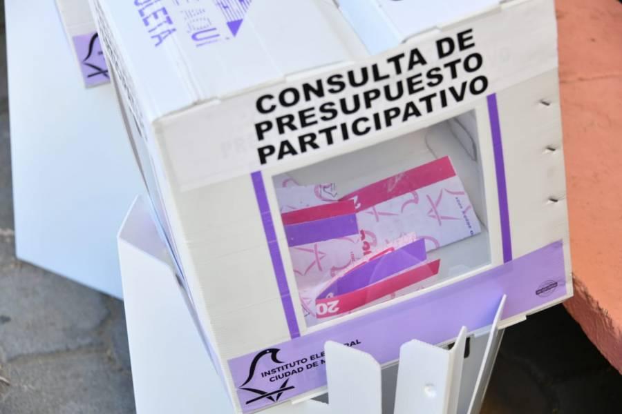 Inicia tarde  la jornada electiva del IECM en Cuauhtémoc e Hidalgo
