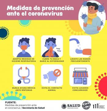 Otro caso de coronavirus en Sinaloa: Un hombre de 25 años, viene de EU