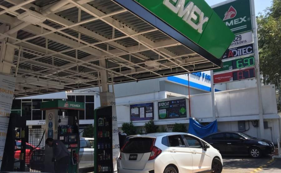 A 16.90 el litro de gasolina en Alcaldía Iztapalapa