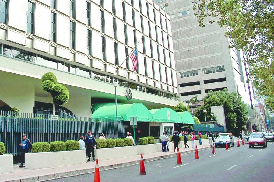 Embajada de EU suspende emisión de visaspor Covid-19