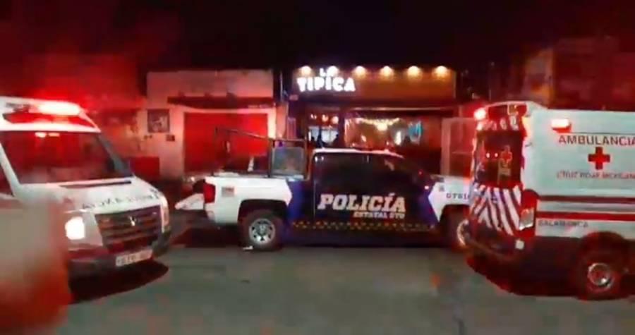 5 muertos tras ataque a un bar de Salamanca, Guanajuato