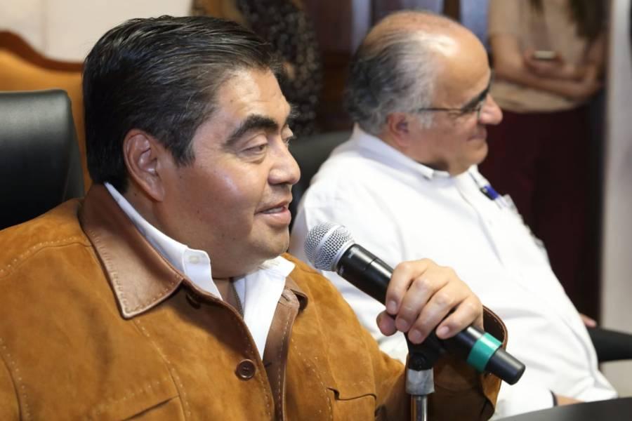 La seguridad es prioritaria en Puebla: Barbosa