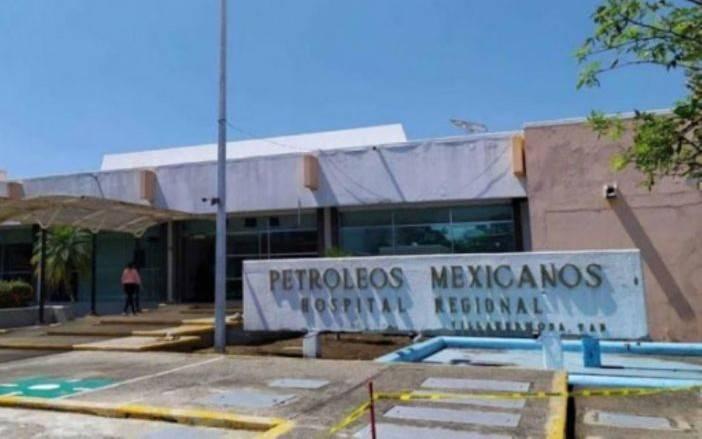 Se registra el octavo fallecimiento en hospital de Pemex, Tabasco