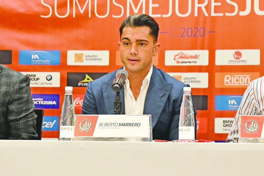 Presidente del Atlético San Luis arroja positivo a covid-19