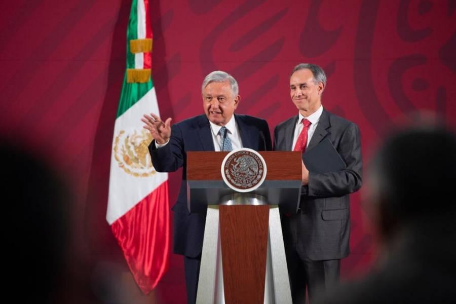 AMLO da espaldarazo a López-Gatell, quien pide no politizar la pandemia