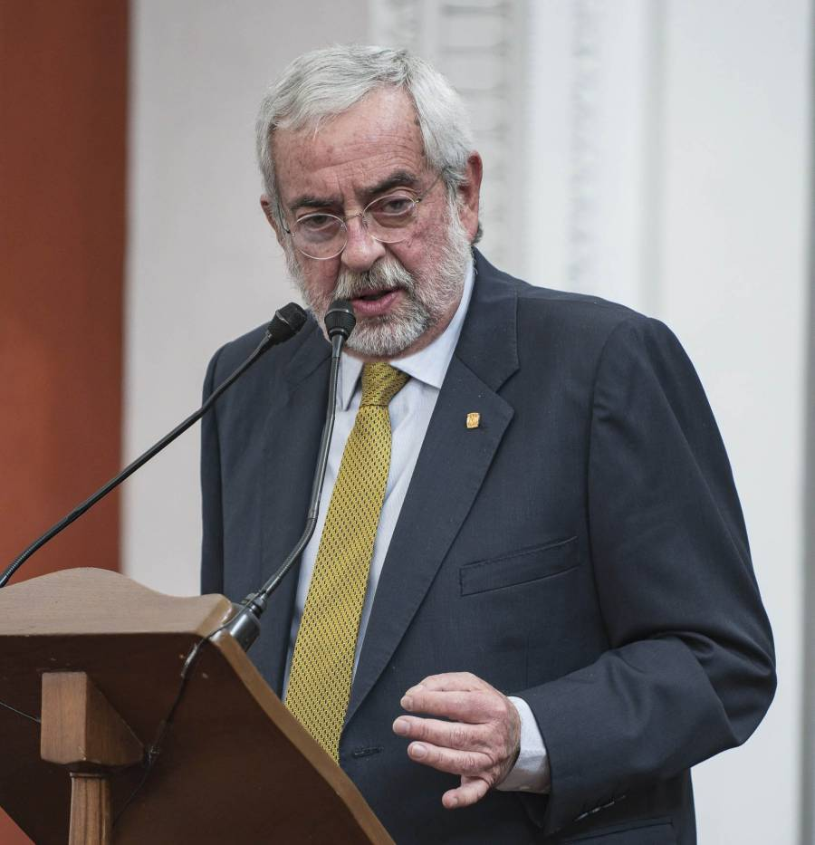 Rector de la UNAM se reúne con titulares del bachillerato, licenciatura y posgrado
