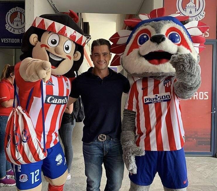 Alberto Marrero, presidente del Atlético San Luis, da positivo en coronavirus
