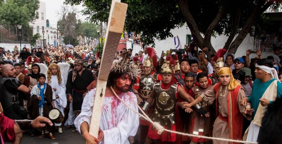 Se suspende la representación del Viacrucis en Iztapalapa