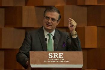 Canciller mexicano agradece ayuda de Interjet y Aeromexico para trasladar a mexicanos varaos en Perú