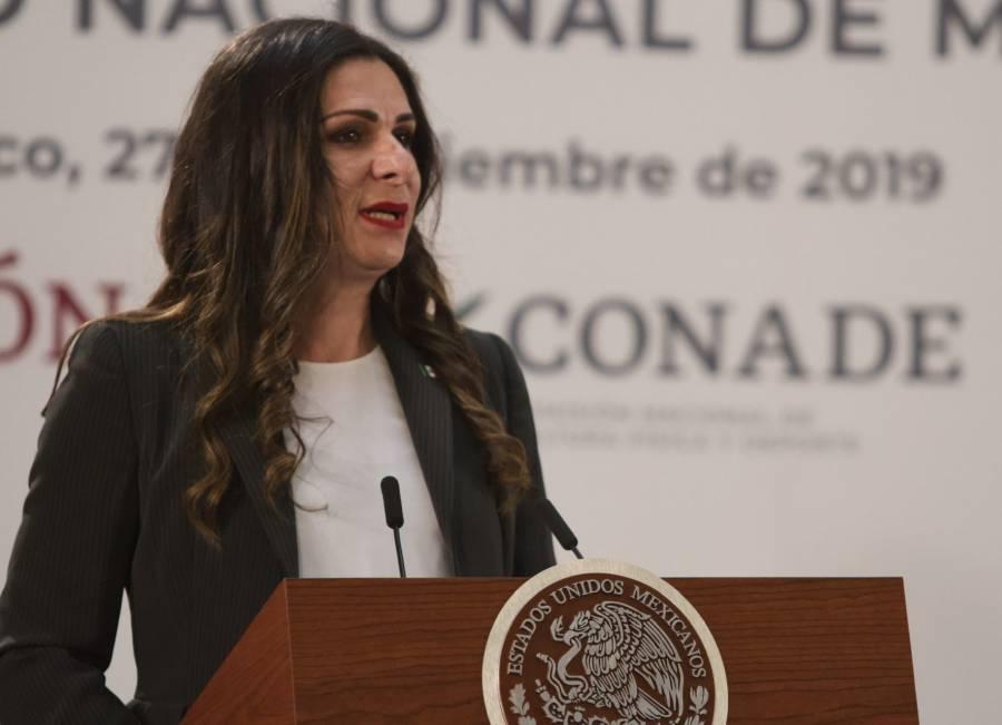 Al menos 25 atletas varados en otros países: Ana Guevara