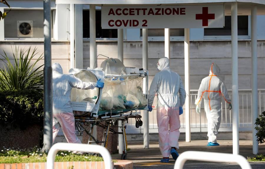 Italia reporta 475 muertes por coronavirus en un día