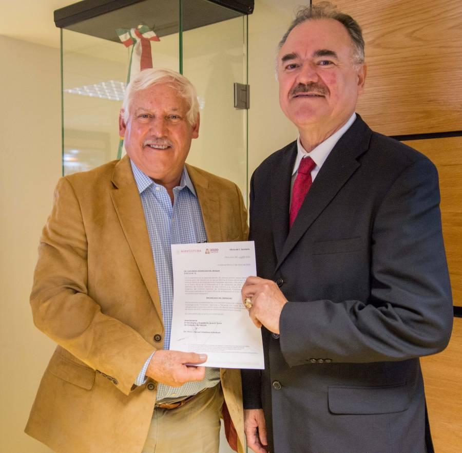 Luis Ángel Rodríguez del Bosque, nuevo encargado de despacho del Inifap