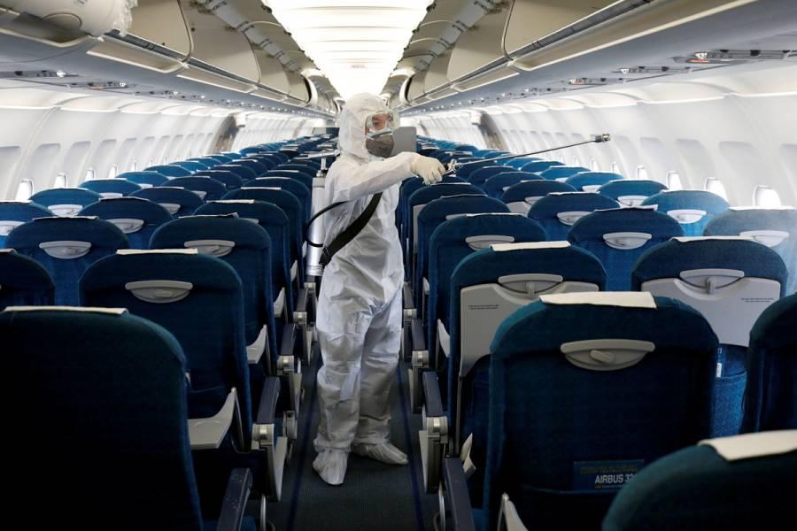Coronavirus propicia nuevo récord en aviación