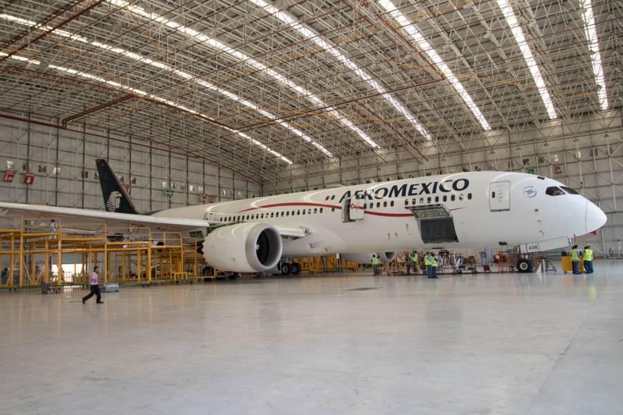 Buscan a pasajeros de vuelo 2638 de Aeromexico para estudio del COVID-19