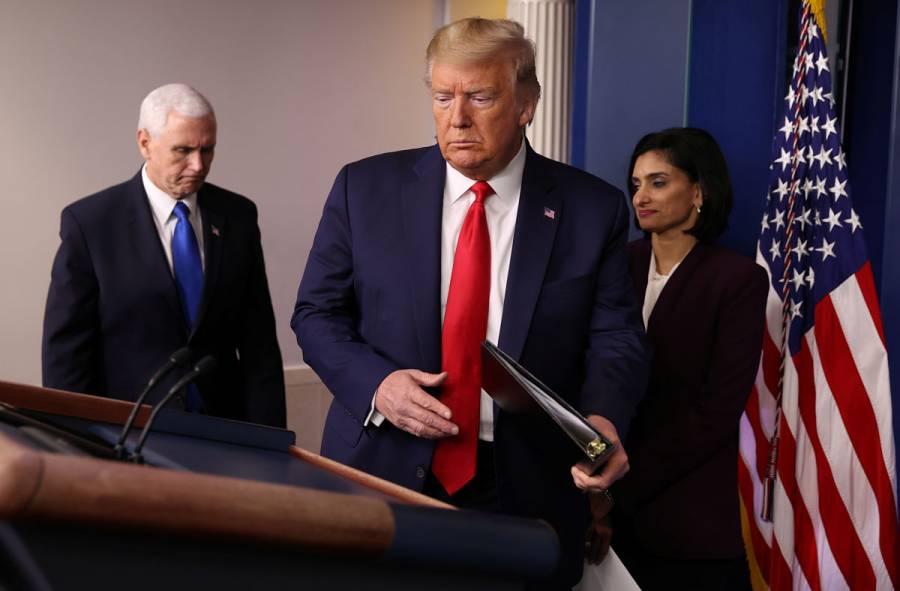 Trump cierra frontera con Canadá por coronavirus