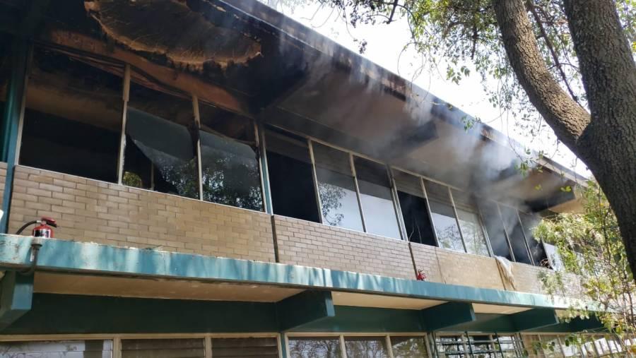 Señalan que hubo un incendio en el CCH-Sur alrededor del mediodía