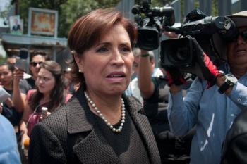 Este jueves, juicio político contra Rosario Robles