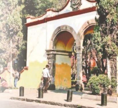 INAH al rescate de arco atrial de Coyoacán