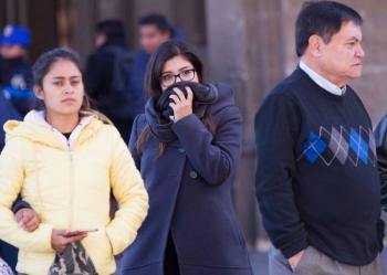 Frente frío 45 provocará temperaturas bajas en norte del país