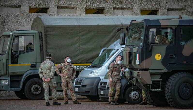 Italia desplegará tropas para hacer cumplir cuarentenas por coronavirus