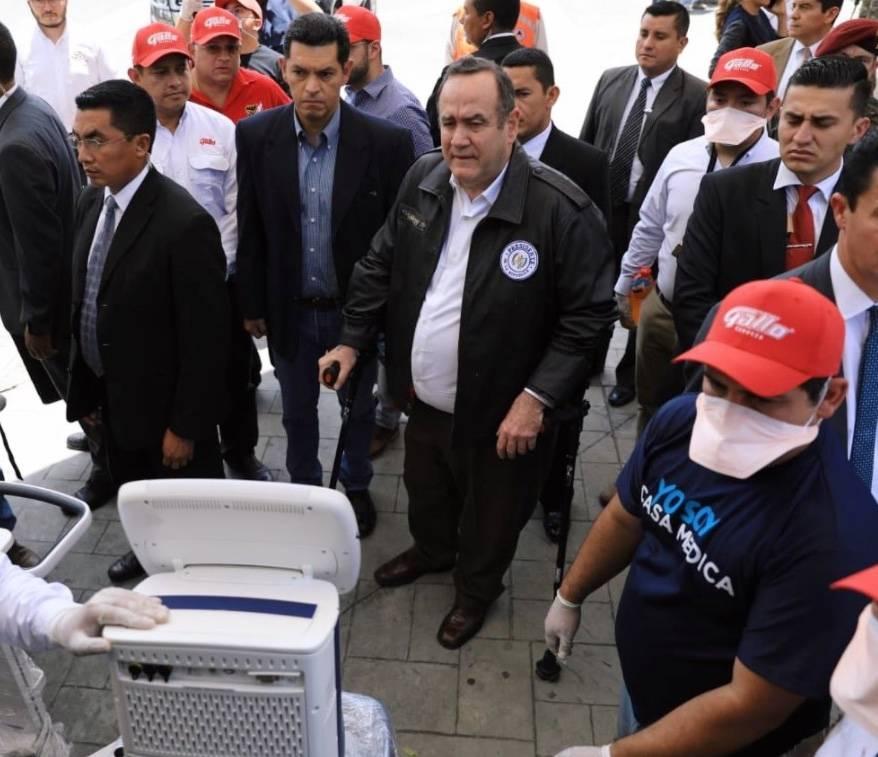 Guatemala tendrá toque de queda de ocho días por el coronavirus