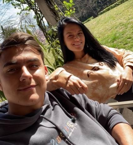 Paulo Dybala y Oriana Sabatini dan positivo de coronavirus