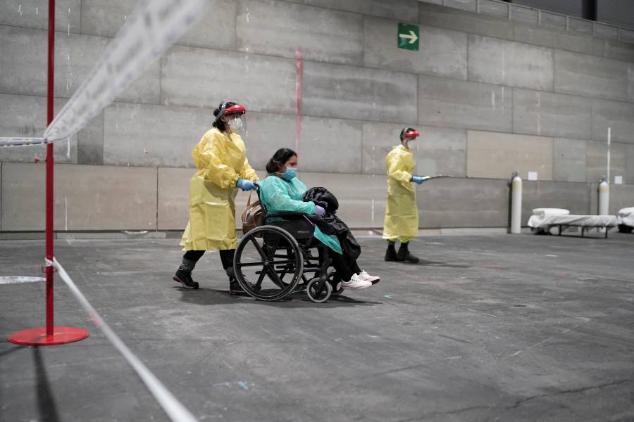 Reportan mil 720 víctimas en España por coronavirus
